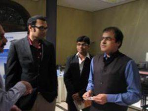 With Mr. Rajendra Pratap. Economic & Political Strategies, BJP Govt. India
